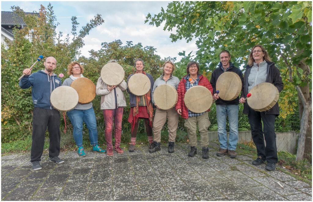 Trommelbau-Workshop Weilburg 2019-09